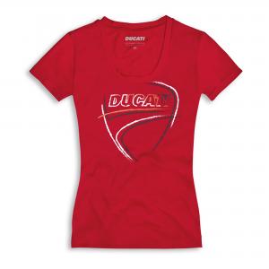 Женская футболка Ducati Heart Beat