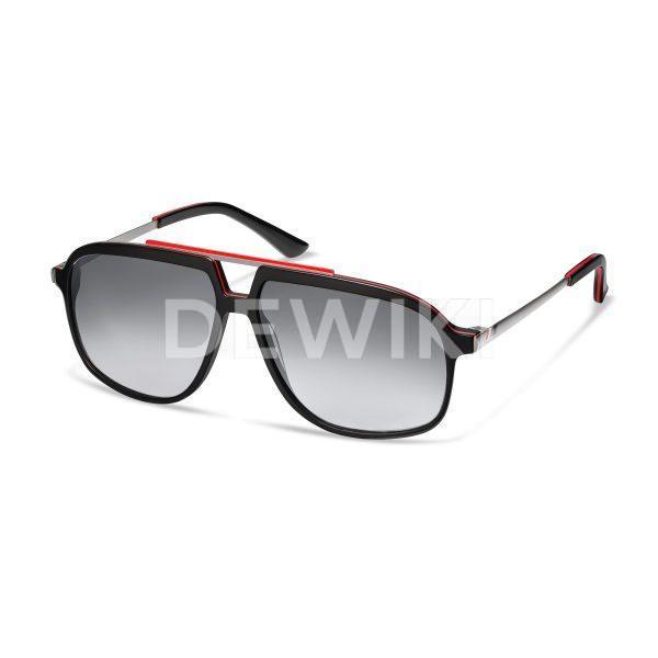 Солнцезащитные очки Audi  heritage , black/red