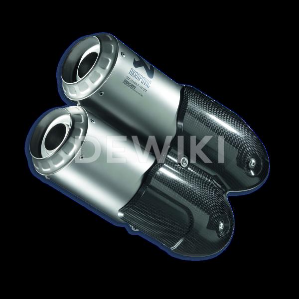 Титановый глушитель Akrapovic Ducati SuperSport