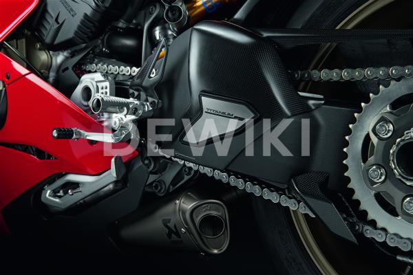 Карбоновая защита маятника Ducati Panigale V4