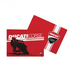 Американские салфетки (пара) Гоночный завтрак Ducati Corse