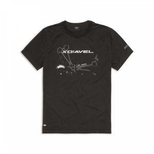 Мужская футболка Ducati Iron Dream, Black