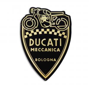 Металлический знак Ducati Shield