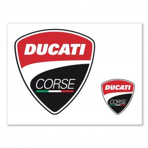 Наклейка Ducati Corse, унисекс