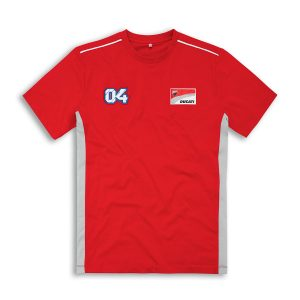 Мужская футболка Ducati Corse D04, Red