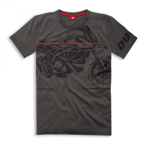 Мужская футболка Ducati Red Line