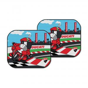 Солнцезащитные козырьки (пара) Cartoon Ducati Corse