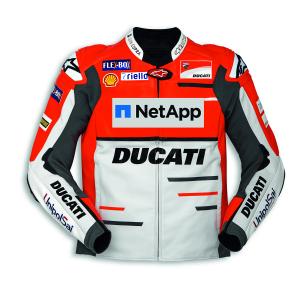 Мужская кожаная мотокуртка Ducati Replica Team 18