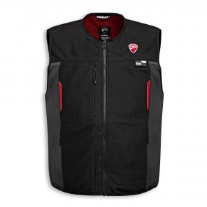 Мужской текстильный жилет Ducati Smart