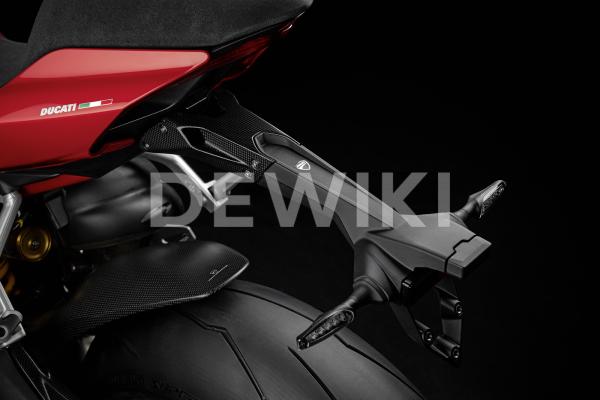 Карбоновый держатель номерного знака Ducati Panigale V2 / V4 / Streetfighter V4