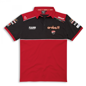 Рубашка-поло с коротким рукавом SBK Team Replica 20, для мужчин