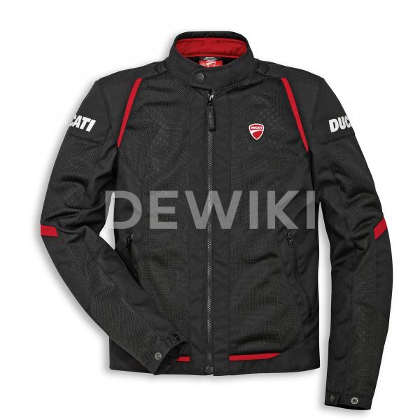 Мужская текстильная куртка Ducati Flow C3, Black