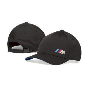 Бейсболка унисекс BMW M Logo, Black