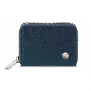 Кожаный кошелек BMW, Blue