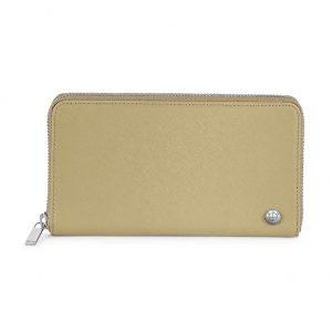 Женское кожаное портмоне BMW Wallet, Sand