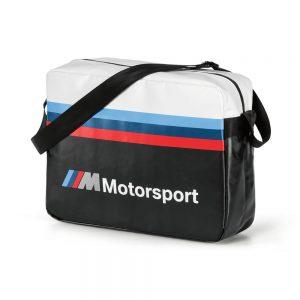 Городская сумка BMW M Motorsport, Black/White
