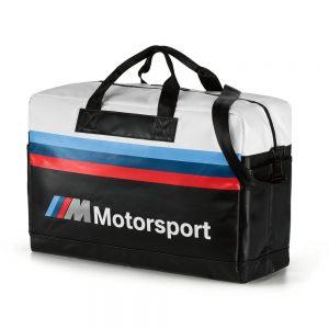 Дорожная сумка BMW M Motorsport, Black/White