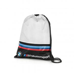 Спортивная сумка-мешок BMW M Motorsport, White/Black