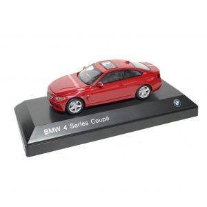 Миниатюрная модель BMW 4 серии Coupe, Melbourne Red, масштаб: 1:43