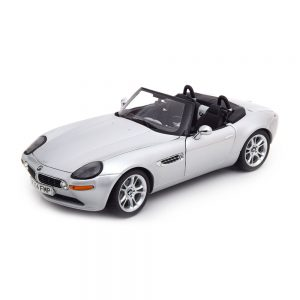 Миниатюрная  модель BMW Z8 Convertible (E52), Silver, масштаб 1:18