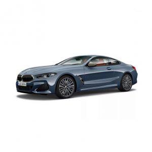 Миниатюрная  модель BMW 8 Series Coupe, Barcelona Blue Metallic, масштаб 1:18
