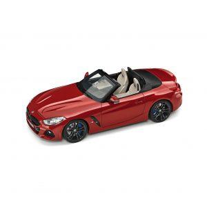 Миниатюрная  модель BMW Z4 Roadster (mod.G29), San Francisco Red, масштаб 1:18