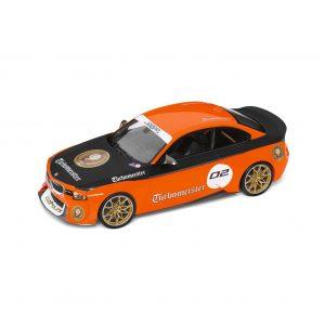 Миниатюрная  модель BMW 2002 Turbomeister, Orange/Black, масштаб 1:18
