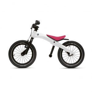 Детский велосипед беговел BMW, White/Raspberry