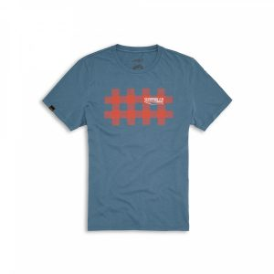 Мужская футболка Ducati Scrambler Scottish Tee, Blue