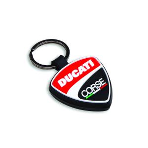 Резиновый брелок Ducati Corse Shield