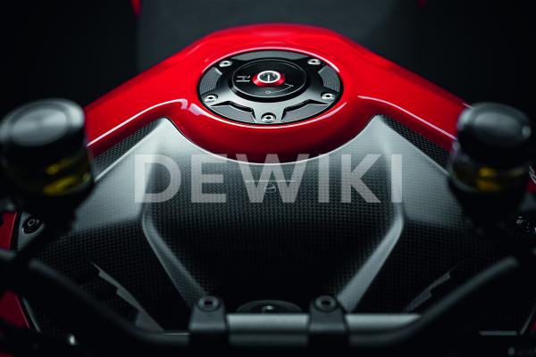 Карбоновая крышка бака Ducati Streetfighter V4