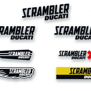 Наклейки Multi Logo Scrambler