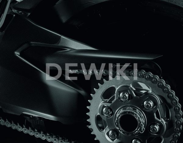 Карбоновая защита цепи Ducati Monster 1200 / Supersport