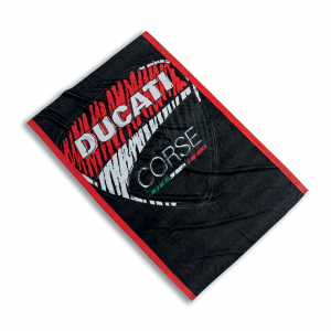 Губка пляжное полотенце Sketch Ducati Corse