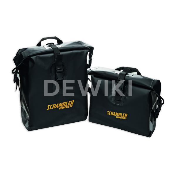 Водонепроницаемые боковые сумки Urban Enduro Ducati Scrambler