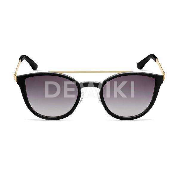 Женские солнцезащитные очки Audi, black/gold