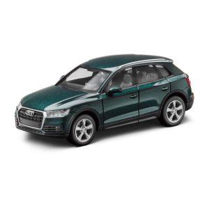 Модель в миниатюре Audi Q5, Azores Green, масштаб 1:87