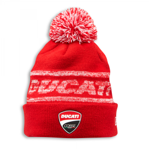 Детская вязаная шапка Ducati Corse New Era