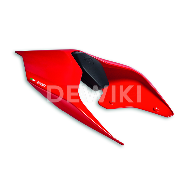 Крышка заднего пассажира Ducati SF V4 / Panigale V2, Red