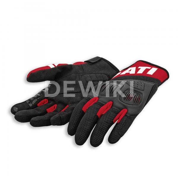 Мотоперчатки Ducati Summer C3, Black