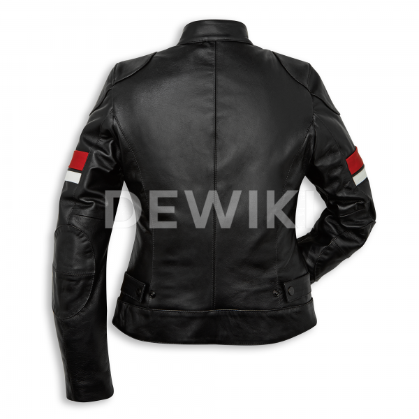 Женская кожаная куртка Ducati Urban Stripes