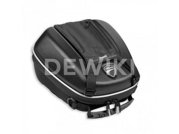 Сумка с карманом на бак Ducati Monster / Multistrada / Supersport, 5 литров