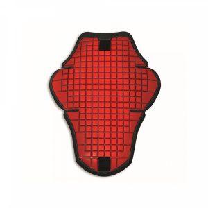 Мужская защита спины кожаной куртки Ducati Warrior 2, Red