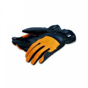 Мотоперчатки Ducati Street Master C2 Scrambler, Black/Yellow