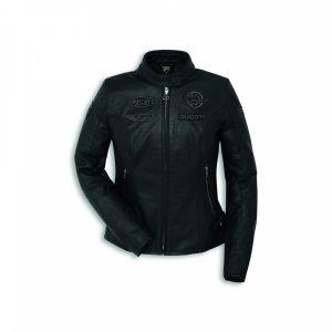 Женская кожаная мотокуртка Ducati Heritage C1, Black