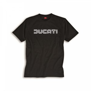 Мужская футболка Ducati Ducatiana 80-х, Black