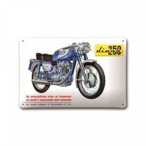 Металлическая пластина Ducati Diana 250