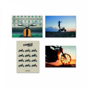 Плакаты Ducati Scrambler, микс