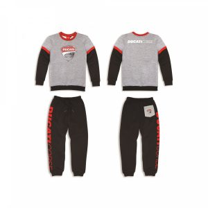 Эскиз костюма Ducati Corse из флиса