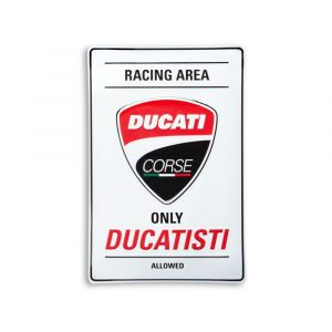 Металлическая вывеска Ducati Corse